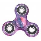 Rotating Fidget Hand Spinner ADHD Autism Fingertips Fingers Gyro Reduce Stress:Purple