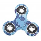 Rotating Fidget Hand Spinner ADHD Autism Fingertips Fingers Gyro Reduce Stress:Blue