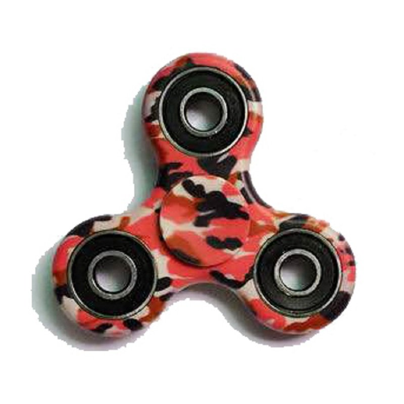 Colorful Rotating Fidget Hand Spinner Pink