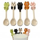 Animal Ceramic Hanging Tea Soup Spoon Panda