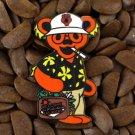 BHO Grateful Dead Bear Pins Dancing Duke Gonzo Fear & Loathing Las Vegas Pin