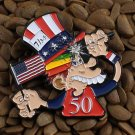 Grateful Dead Pins Fare Thee Well 50th Ann. Shows Ice Cream Kid