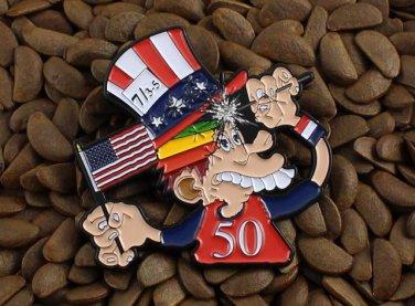 Grateful Dead Pins Fare Thee Well 50th Ann. Shows Ice Cream Kid
