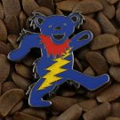 Grateful Dead Pins Happy Pooh Bear Lighting Bolt Badge Pin