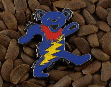 Grateful Dead Pins Happy Pooh Bear Lighting Bolt Badge Pin