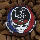 Grateful Dead Pins Fare Thee Well 50th Ann. Steal Your Face L Pin