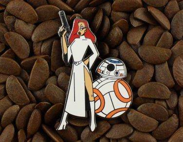 Jessica Rabbit Pins Princess Leia Star Wars Pin