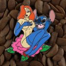 Jessica Rabbit Pins Fantasy Pin Stitch Flower Badge