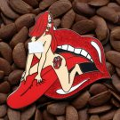 Jessica Rabbit Pins Fantasy Pin Rolling Stones Tongue
