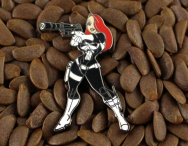 Jessica Rabbit Pins The Punisher Super Hero Pin