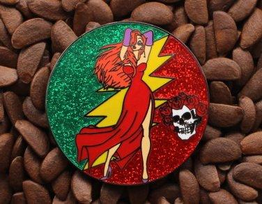 Jessica Rabbit Pins Grateful Dead Pin Skull Roses Lighting Bolt