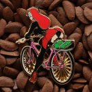 Jessica Rabbit Pins School Girl Bicycle Pin