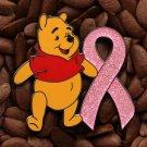 Pink Ribbon Pins Winnie The Pooh Pin