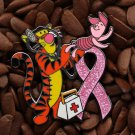 Pink Ribbon Pins Tigger Piglet Red Cross Doctor Pin
