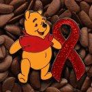 Red Ribbon Pins Winnie The Pooh Pin