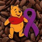 Purple Ribbon Pins Winnie The Pooh Pin
