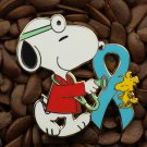 Blue Ribbon Pins Peanuts Doctor Pin Snoopy & Woodstock