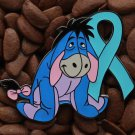 Blue Ribbon Pin Eeyore Pins
