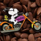 Snoopy Peanuts Pins Norton Bike Woodstock Banksy Pin