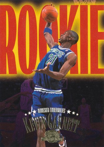 FOR SALE -NBA Kevin Garnett 1996 RC Rookie 2003 Skybox #233 - MT cond.