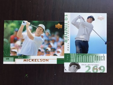 Phil Mickelson golf cards lot - Guaranteed fast delivery