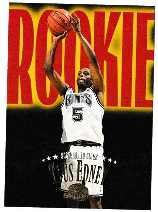 NBA Tyus Edney Rookie basketball card - $1.00 free ship