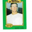 Whitey Ford 1987 Hygrade All Time Greats - FREE SHIPPING