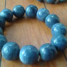 Bracelet Pure Blue Coral 18mm Waxing very Rare