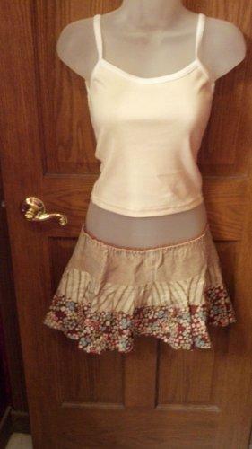 Mini Skirt by Z. Cavaricci, Vintage look Garment, Size: Extra Small
