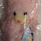 Plush 3-D Character Scarf by Angelina, Pink Bear, Childrens, girls