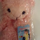Plush 3-D Character Scarf by Angelina, Peach Lamb, Childrens, girls