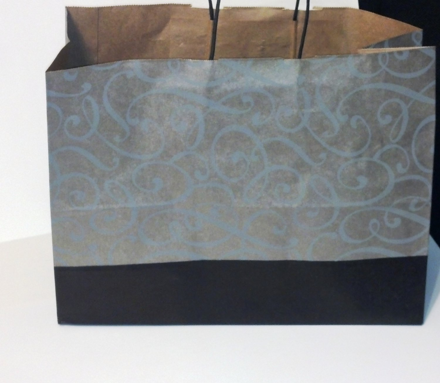Black/Silver Swirl Gift Bags