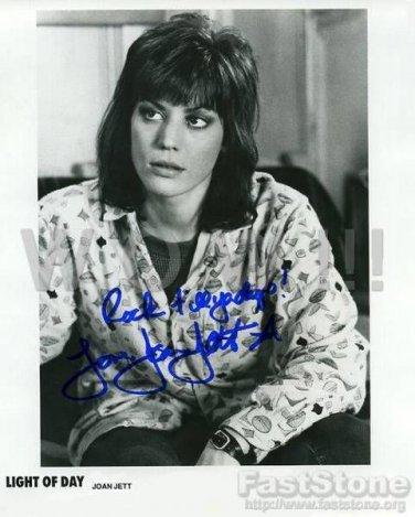 Gorgeous JOAN JETT Signed Autograph 8x10  Picture Photo REPRINT