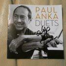 "ORIGINAL  PAUL ANKA  Autographed SiP CD ""DUETS"" + PHOTO"