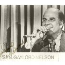 SEN GAYLORD NELSON  Signed Autograph 8x10 inch. Picture Photo REPRINT