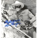 CLAYTON MOORE  Signed Autograph 8x10 inch. Picture Photo REPRINT
