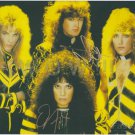 Original STRYPER  8x10 Signed in Person by ALL 4 Autograph Photo