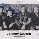 Original JOHNNY WINTER  5x7 Signed in Person  by ALL 4 Autograph Photo Picture7