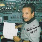 ORIGINAL  Astronaut  CHARLES CAMARDA  8x10 Signed  Autograph Photo