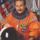ORIGINAL  Astronaut  CHARLES CAMARDA  8.5x11 Signed  Autographed LITHOGRAPH