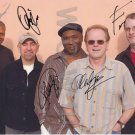 ORIGINAL AVERAGE WHITE BAND 8x10 Signed in Person by ALL 5 Autograph Photo
