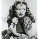 Gorgeous GENE TIERNEY Signed Autograph 8x10 inch. Picture Photo REPRINT