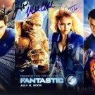FANTASTIC Cast Signed Autograph 8x10 inch. Picture Photo REPRINT