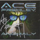 "Original ACE FREHLEYof KISS Signed in Person Autographed CD ""ANOMALY"" w/POSTER"