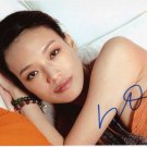 Gorgeous  SHU QI  Signed Autograph 8x10  Picture Photo REPRINT