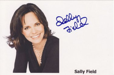 Gorgeous  SALLY FIELD  Signed Autograph 8x10  Picture Photo REPRINT