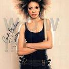 ORIGINAL Autographed SiPerson by CINDY BLACKMAN SANTANA 13x19 Poster Picture