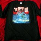 ORIGINAL Rare ASIA  World Tour 2006 LONGSleeveTShirt XL Wetton Howe Palmer Downe