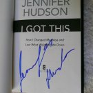 "DREAMGIRLS American Idol JENNIFER HUDSON SIGNED ""I GOT THIS"" + FREE Bonus"