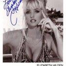 Gorgeous ELIZABETH HILDEN Signed Autograph 8x10 inch. Picture Photo REPRINT